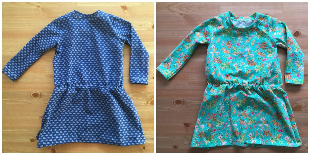couture robe 18 mois