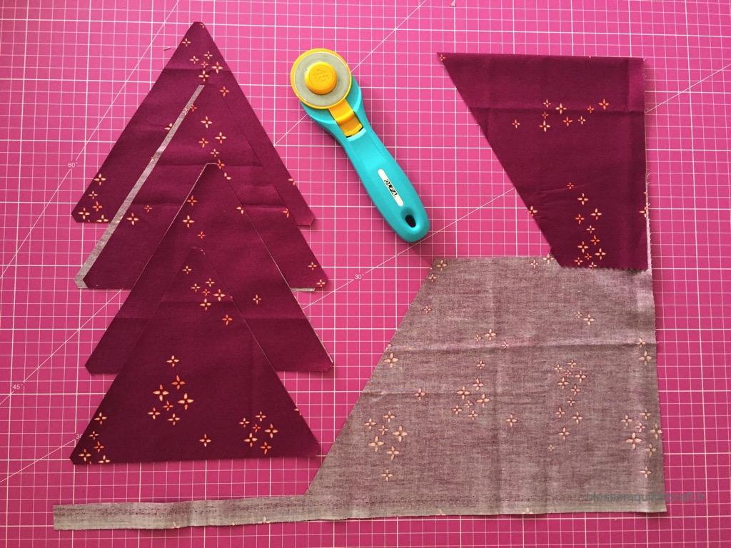 regles patchwork triangle