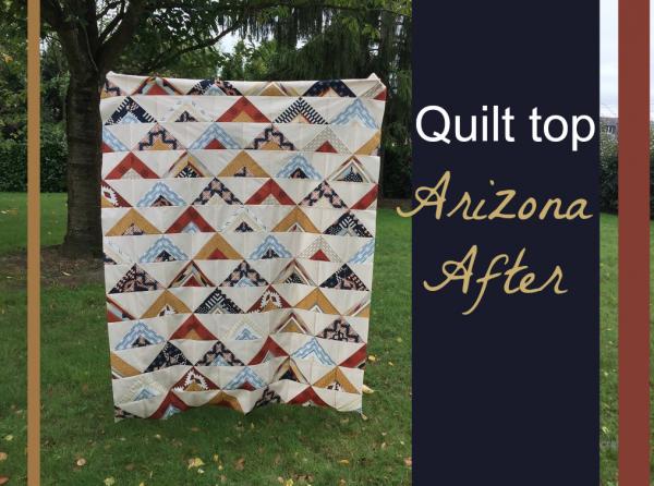 Quilt top Arizona After
