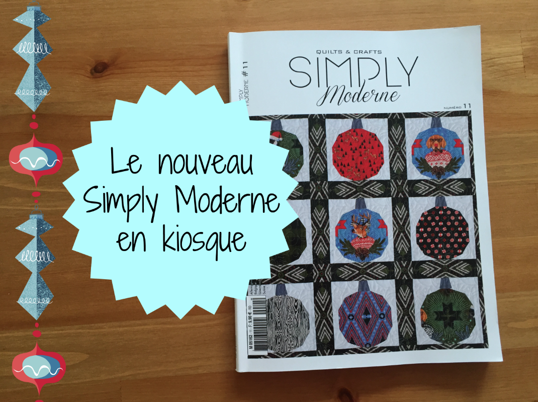Quilmania Simply Moderne Hiver 2017