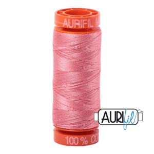 Fils Aurifil Mako 50 Peachy Pink 2435