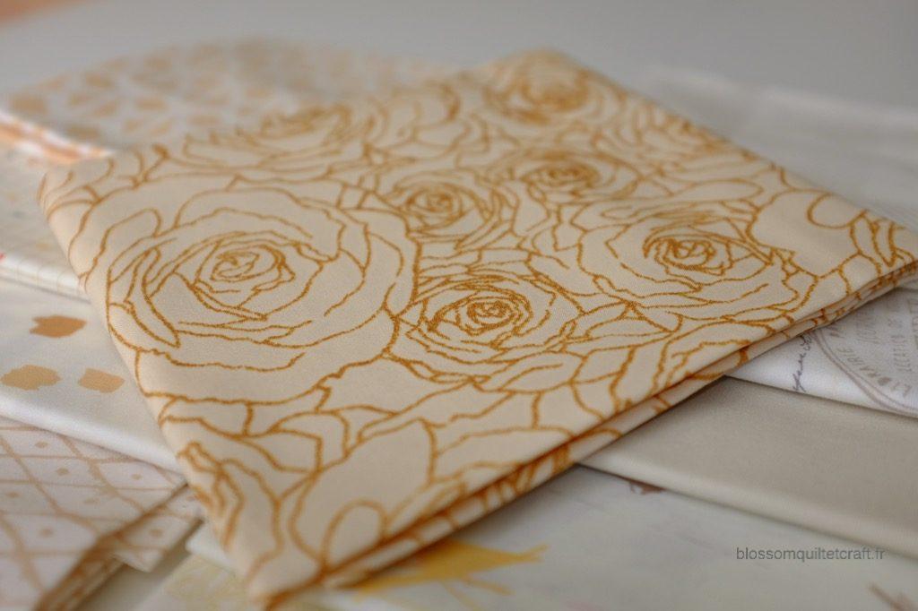 Boite color master 12 tissus beige pour patchwork