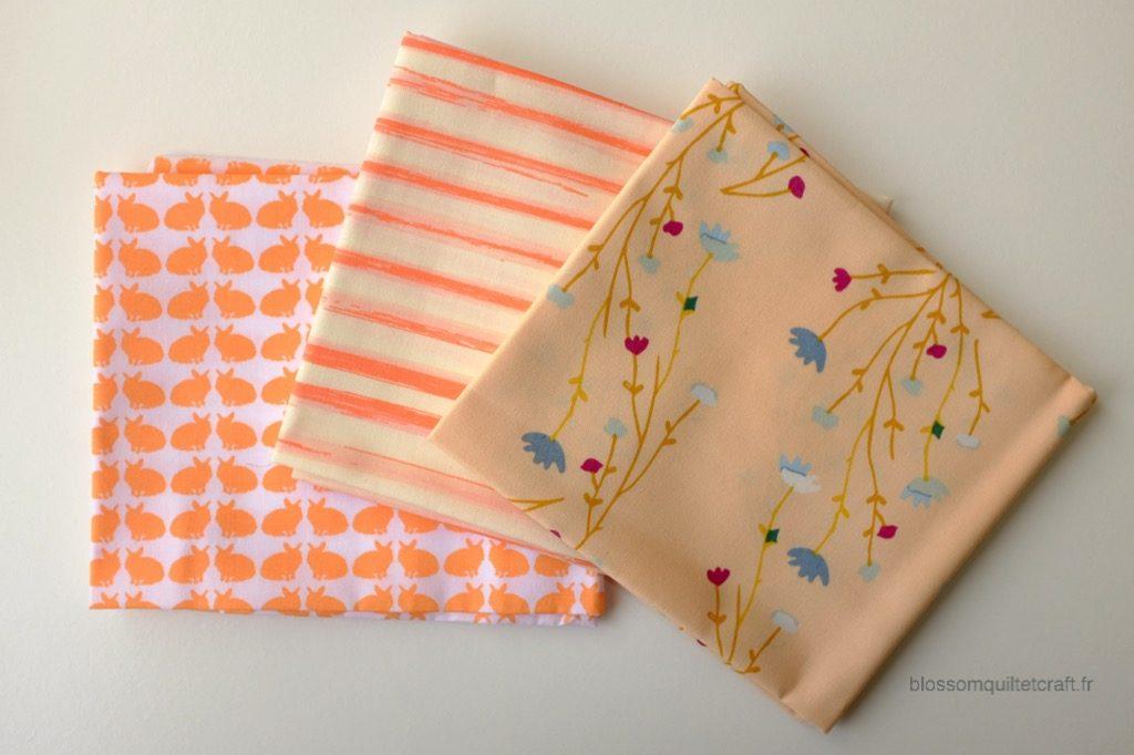 Boite color master 4 tissus pour patchwork moderne