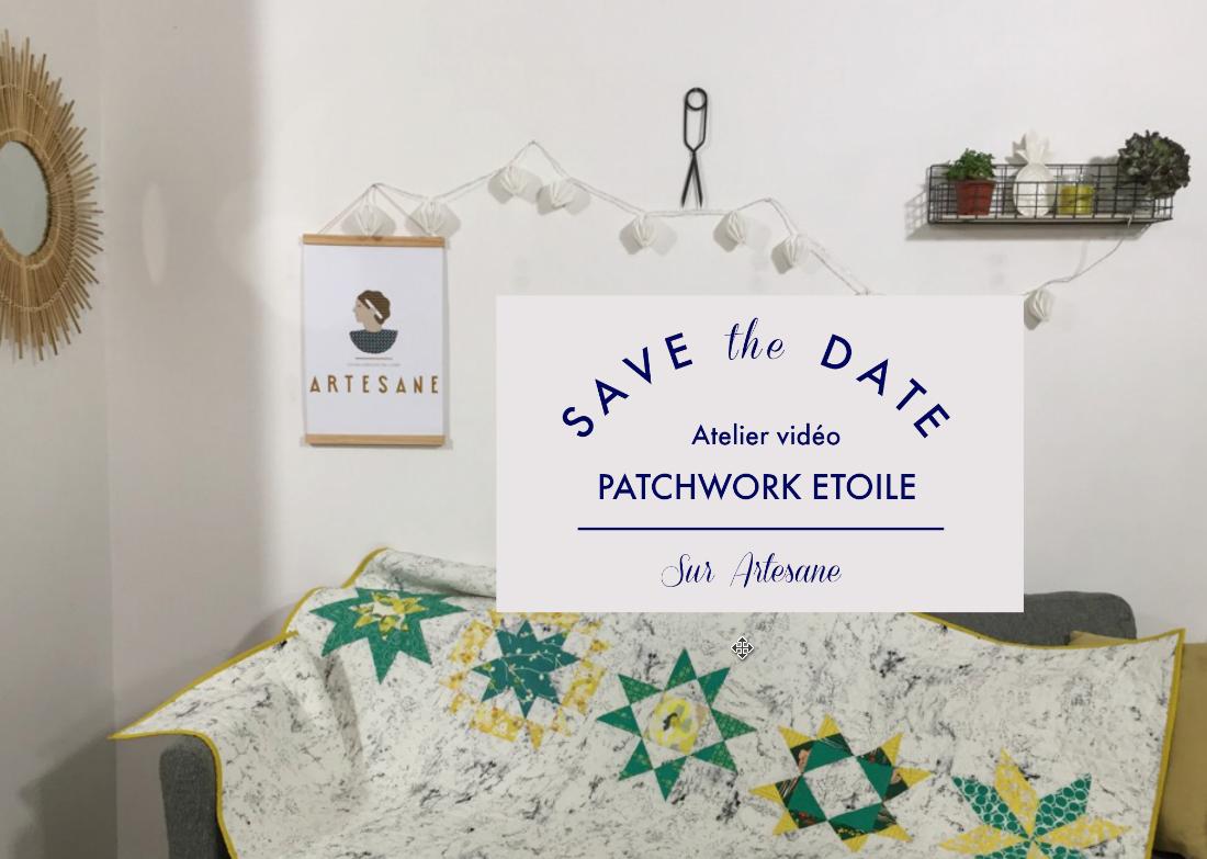 atelier patchwork étoile artesane