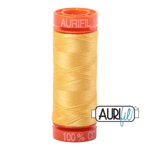 Fils Aurifil Mako 50 Pale Yellow 1135
