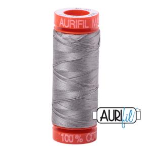 Fils Aurifil Mako 50 Stainless Steel 2620