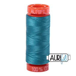 Fils Aurifil Mako 50 Dark Turquoise 4182