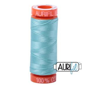 Fils Aurifil Mako 50 Light Turquoise 5006