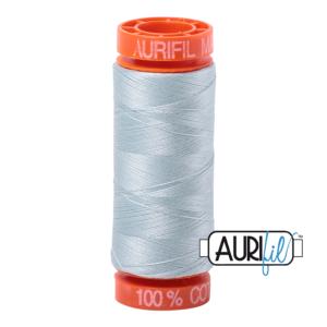Fils Aurifil Mako 50 Light Grey Blue 5007