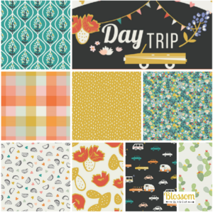 Day Trip Blossom Quilt et Craft