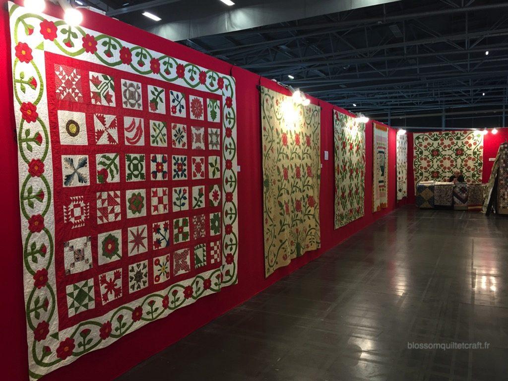 expositions de quilts anciens PAF