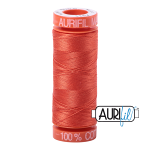 Fils Aurifil Mako 50 Dusty Orange 1154