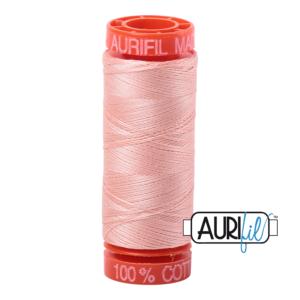 Fils Aurifil Mako 50 Fleshy Pink 2420