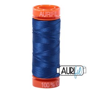 Fils Aurifil Mako 50 Dark Cobalt 2740