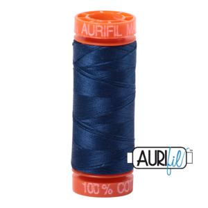 Fils Aurifil Mako 50 Medium Deft Blue 2783