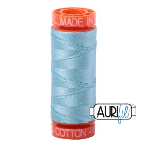 Fils Aurifil Mako 50 Light Grey Turquoise 2805
