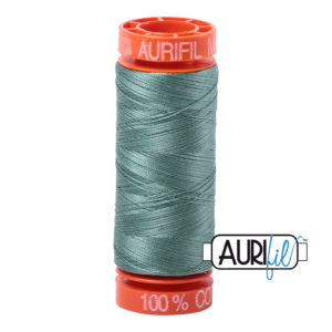 Fils Aurifil Mako 50 Medium Juniper 2850