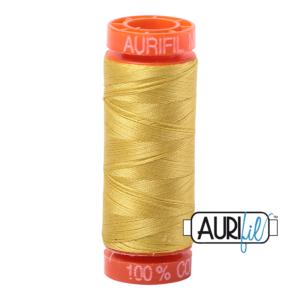 Fils Aurifil Mako 50 Gold Yellow 5051