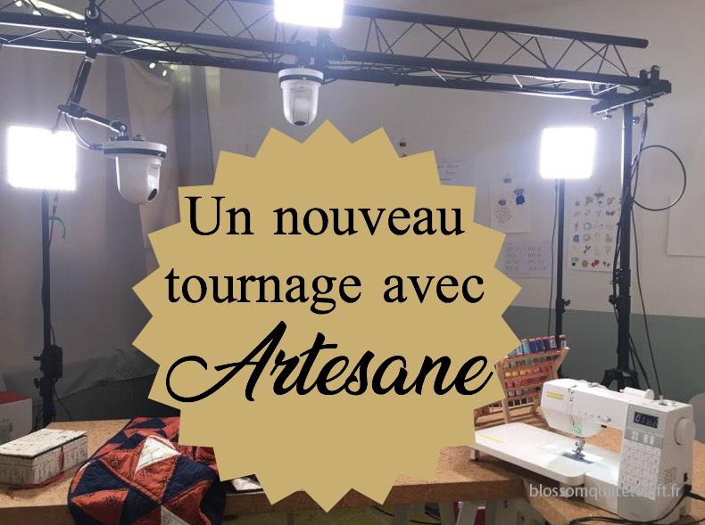 Un nouveau tournage avec Artesane
