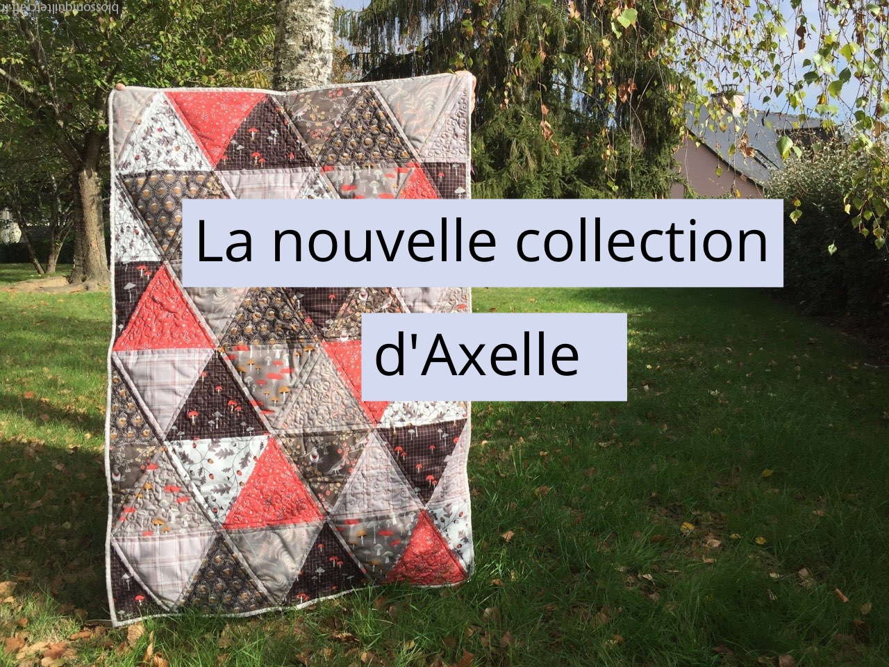 La nouvelle collection d'Axelle