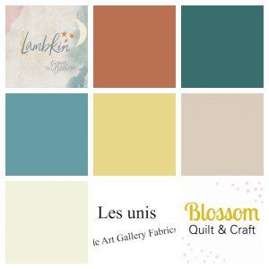 Art Gallery Fabrics Lambkin Boy unis