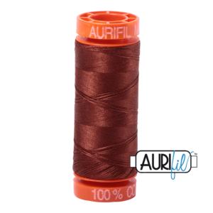 Aurifil 50WT 4012 Copper Brown