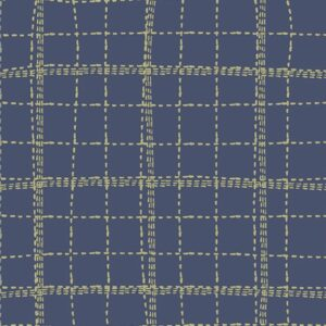 Art gallery fabrics CAP-P-1000-Deep-Sea-Plaid