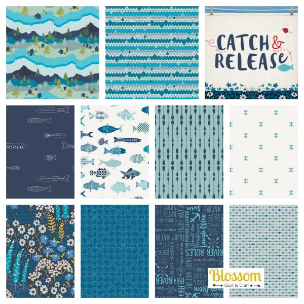 Art gallery fabrics Catch and release