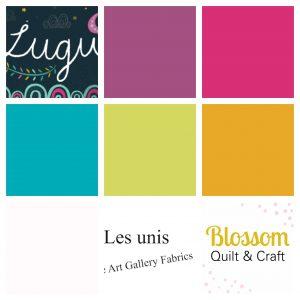 Art gallery fabrics Lugu - Les unis (6 FQ)