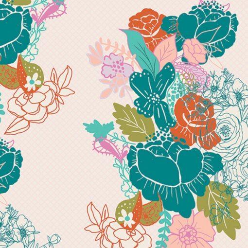 Art gallery Fabrics VRT-21802_Flowerdrama Mattina