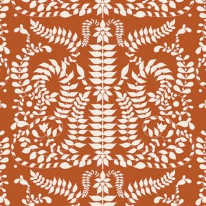 Art gallery fabrics VRT-21803_Chorus Mirror Terra