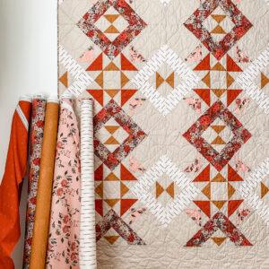 Art Gallery Fabrics Trapeze_Kismet in Studio