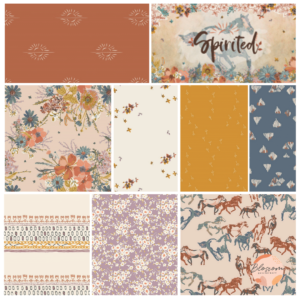 Spirited collection art gallery fabrics