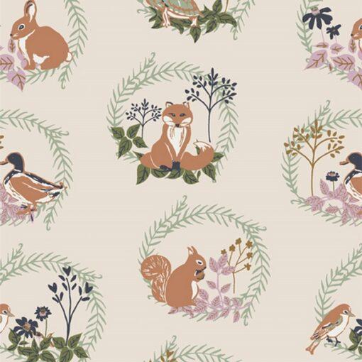 Forest Friends Art Gallery Fabrics