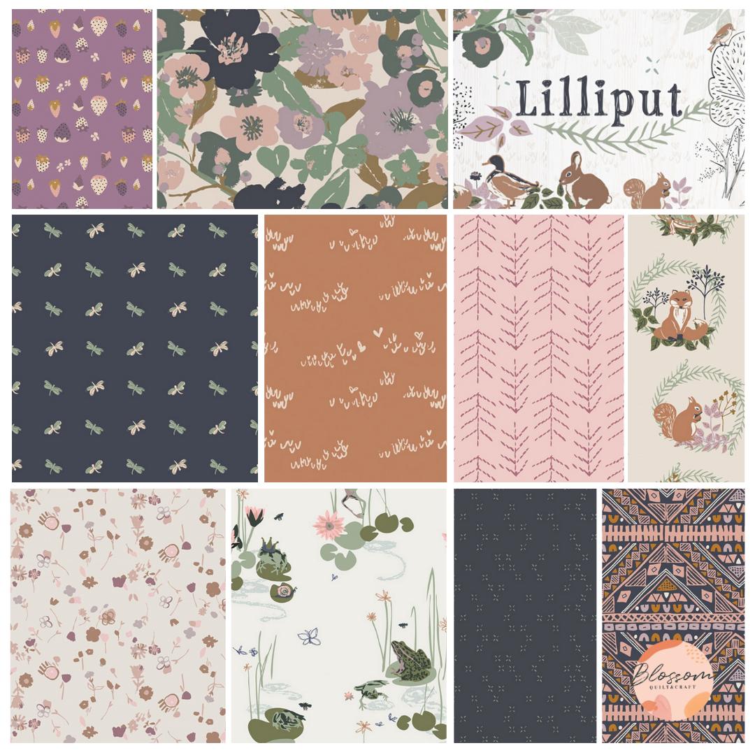 Lilliput Art Gallery Fabrics