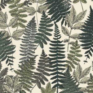 Art Gallery Fabrics Her and History Dots Green Thumb